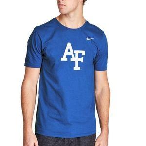 Nike Air Force Falcons - Royal Blue Dri-Fit Shirt